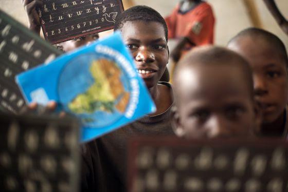 Mahamadou Hassan, 14 años de la ciudad de Baga en Nigeria.
