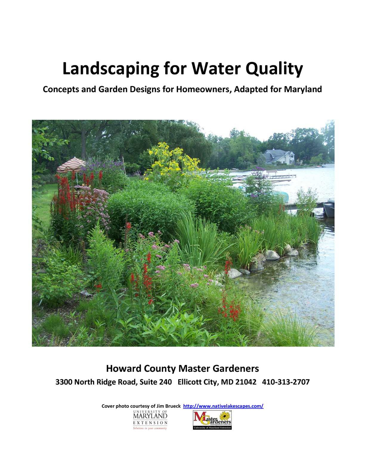 Calaméo Landscaping For Water Quality Concepts And Garden Designs