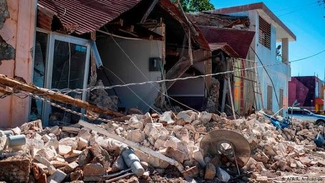 Otro sismo de 5,9 sacude a Puerto Rico la mañana de este sábado