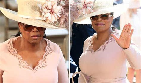 Oprah Winfrey attends Royal Wedding as she supports Meghan