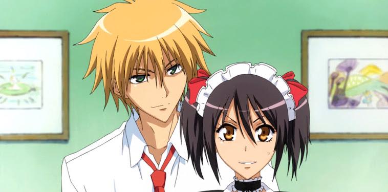 Kaichou Wa Maid Sama Usui And Misaki