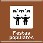 Locais para atividades de interesse turistico - TIT-01 - Festas populares