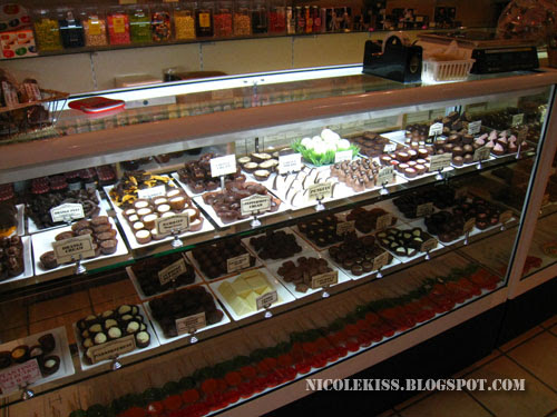chocolates galore