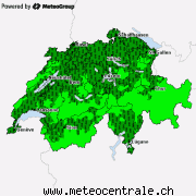 Current severe weather for Switzerland