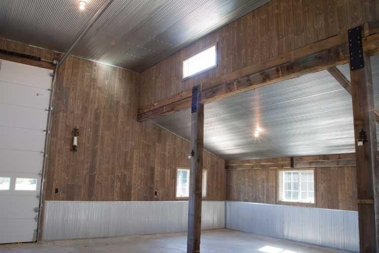 Replacing Drywall With Weathered Barnwood Paneling