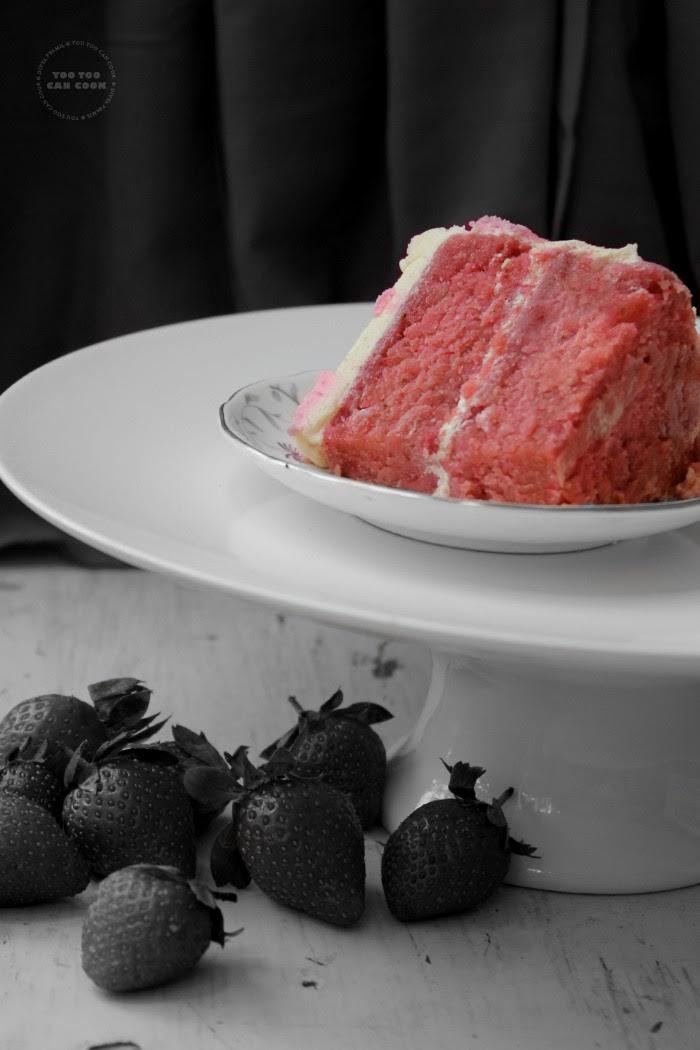 strawberry cake 44