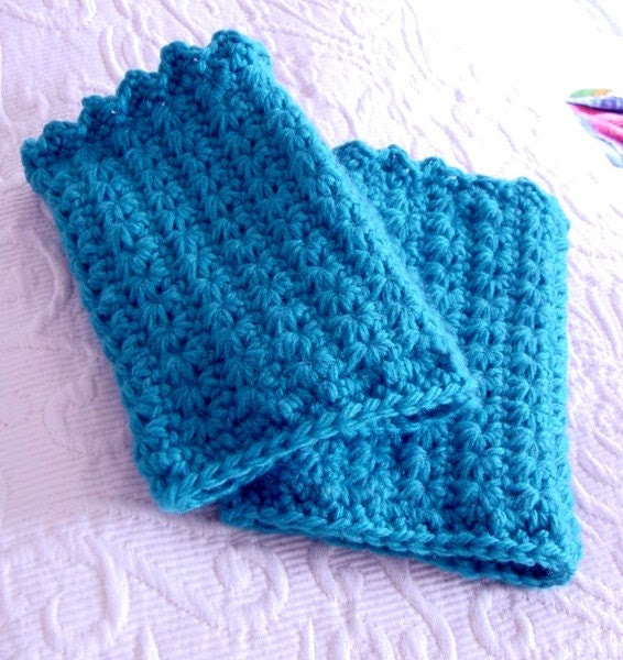 Turquoise Star HandCovers