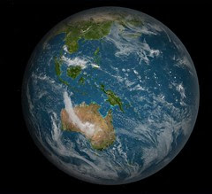 Earth Full South Pacific