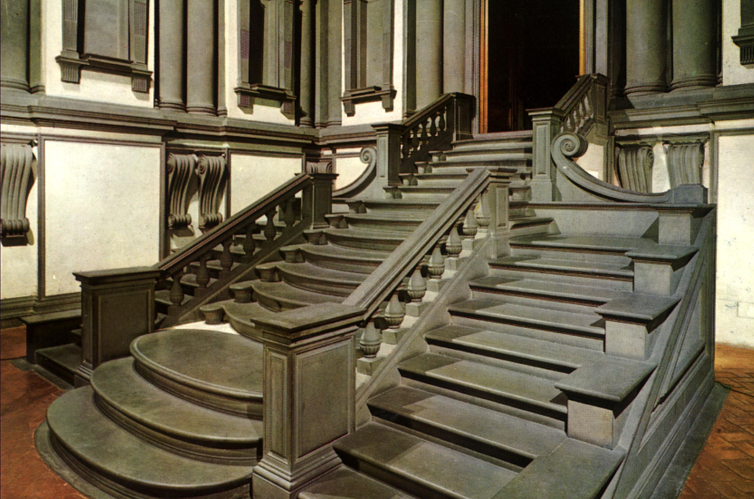 Biblioteca Laurenziana en Florencia   Miguel Ángel   1520   Historia del Arte