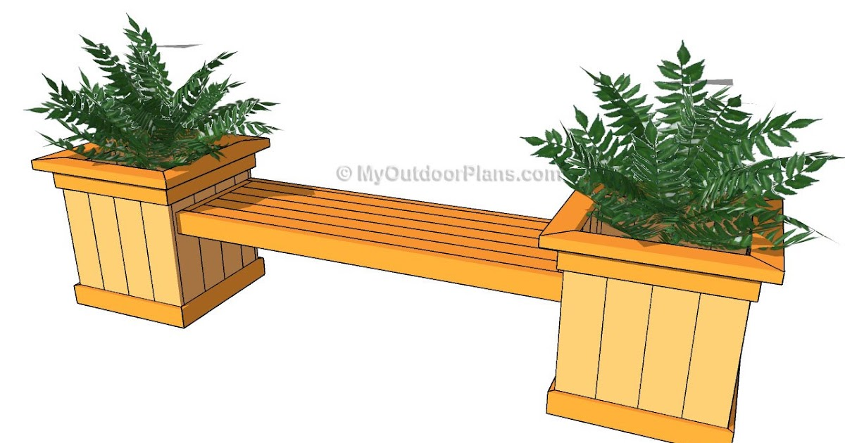 Share free woodworking plans for planter boxes for Tapered planter box plans
