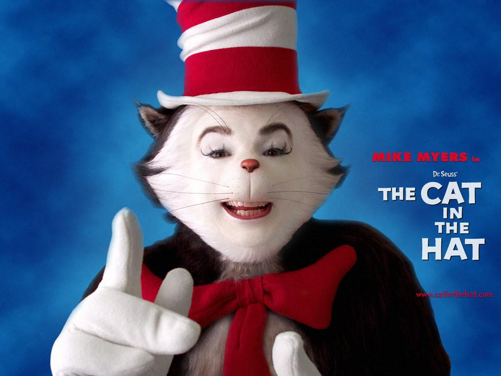 The Cat In The Hat 2003 Dr Seuss Wallpaper 586718 Fanpop