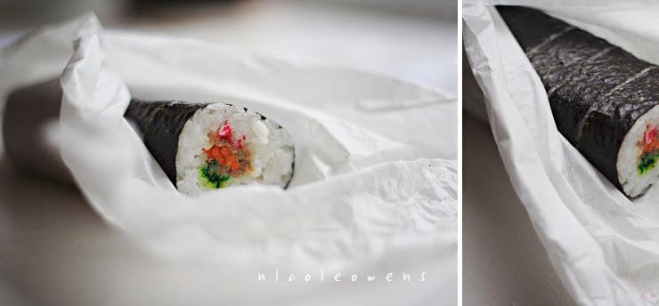 maki sushi roll.