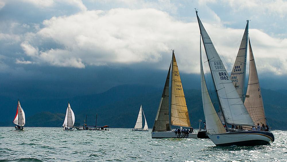 Ubatuba Sailing Week em fotos, veleiros na ubatuba sailig week
