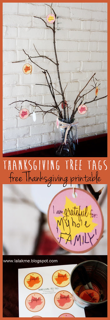 Thanksgiving Tree Tags__Free Thanksgiving Printable