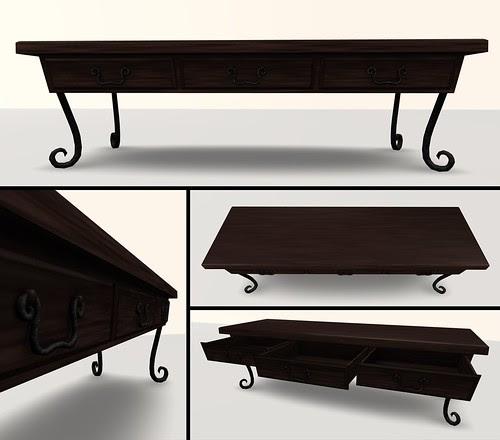 ambrosio coffee table