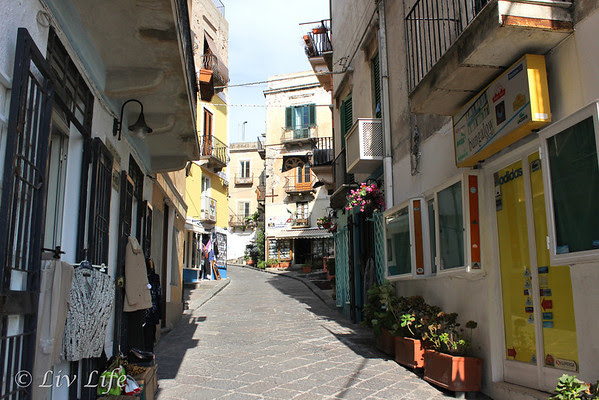 Streets of Lipari - Seabourn Legend
