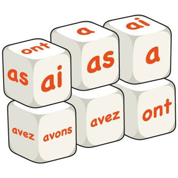 Dice - French Avoir (Set of 6)
