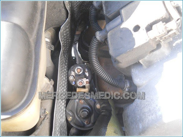 How To Replace The Starter Step By Step Diy With Pictures Mb Medic