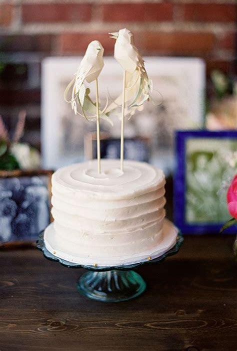 Simple, Single Tier White Wedding Cakes: Part 2   Wedding