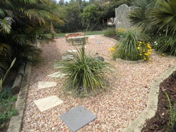 Garden Design Using Pebbles See More