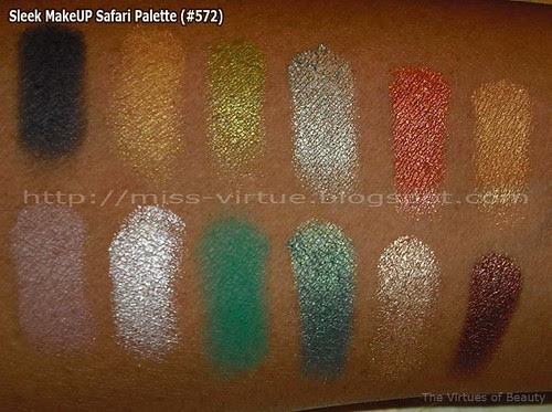 Sleek MakeUP Safari Palette