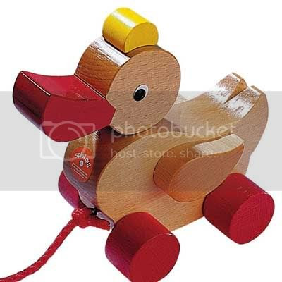 Duck Pull Toy