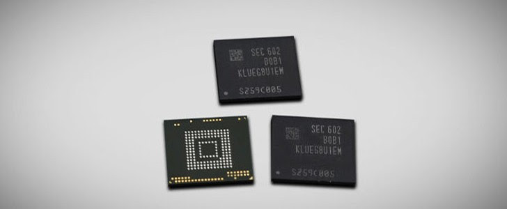 Get Ready: Samsung is producing 256GB storage chips for mobile devices