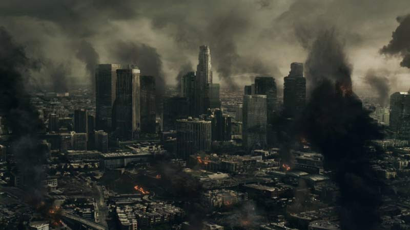 Image result for ciudad destruida apocalipsis