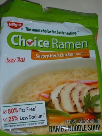 Presto Pasta: Choice Ramen