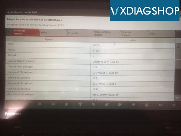 Vxdiagshop  Vxdiag Porsche Piwis3 Software Update To V37 900