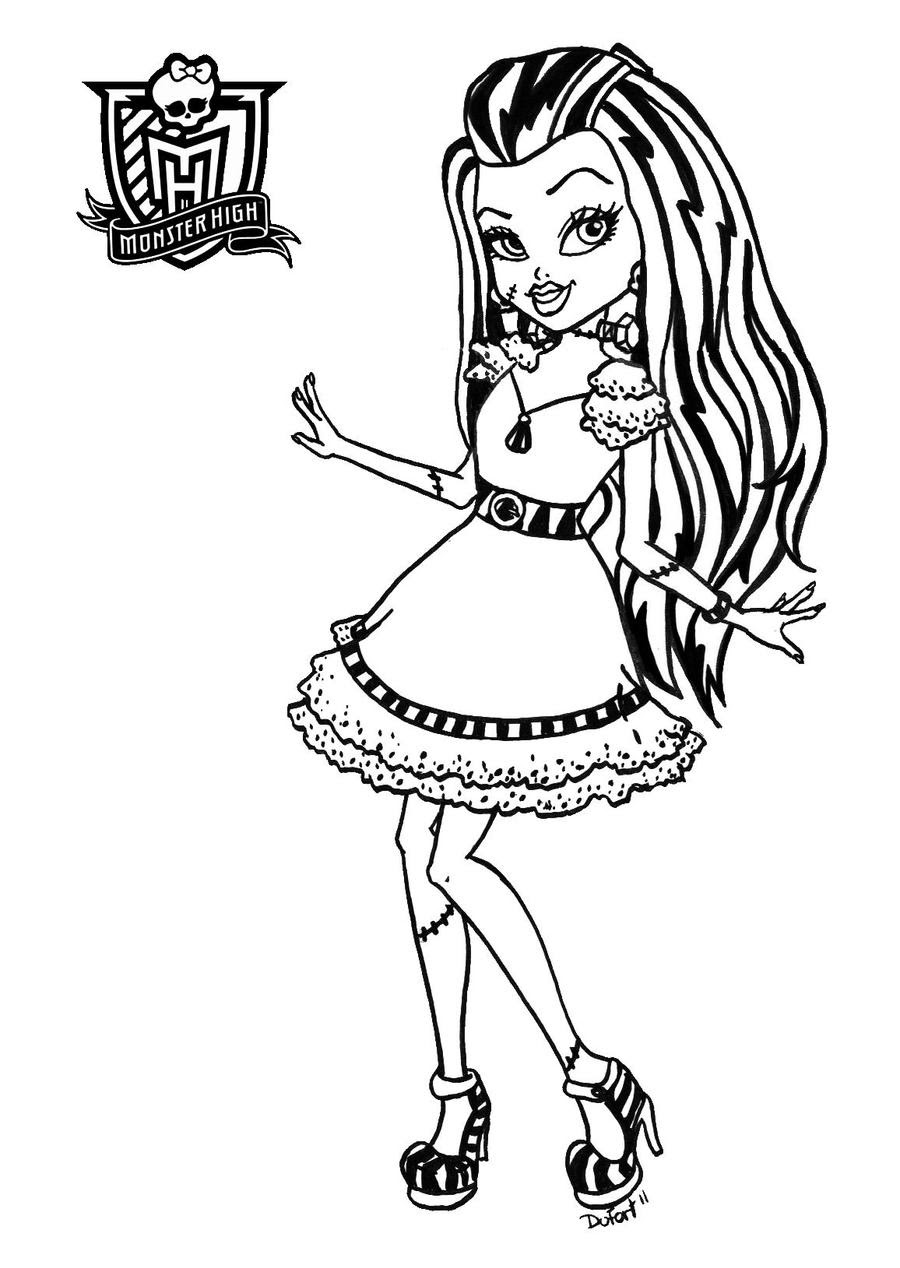 News And Entertainment Coloriage Monster High Jan 06 2013 121243