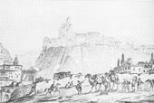 Тифлис. 1837 г.) Рисунок Лермонтова