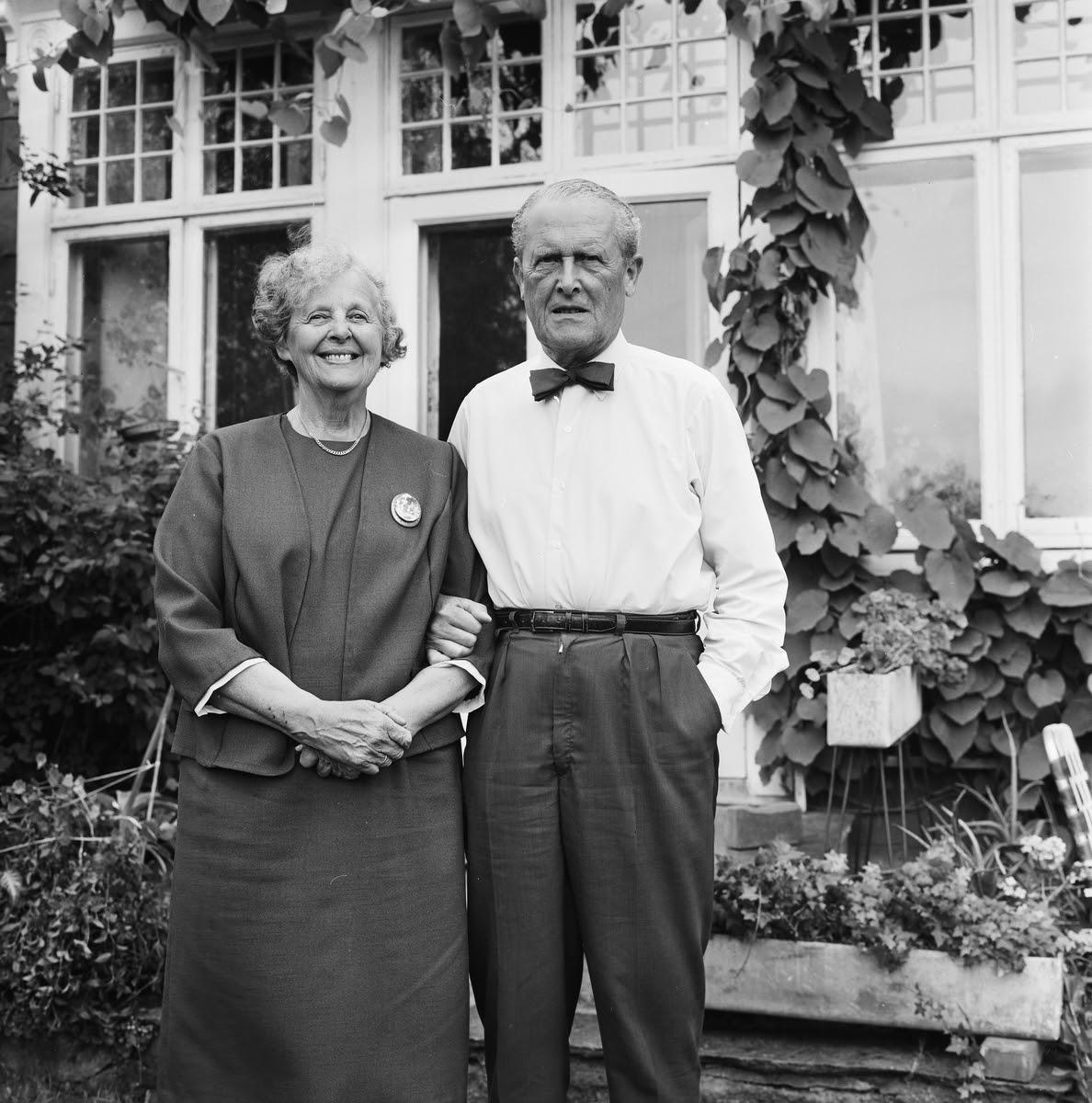 Mr. and Mrs. Hjort