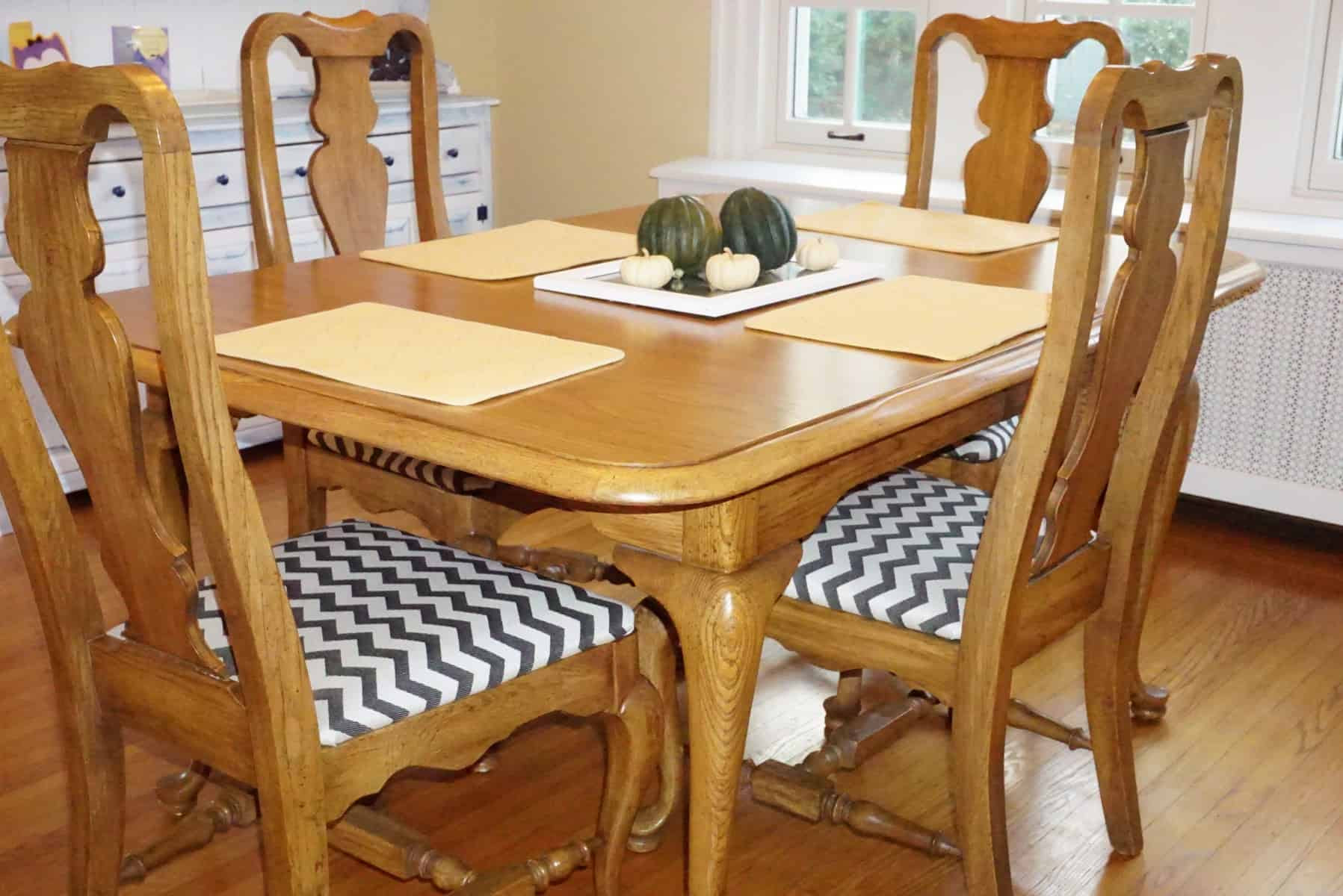 How to Reupholster Dining Room Chair Seat Covers - Sitting ...