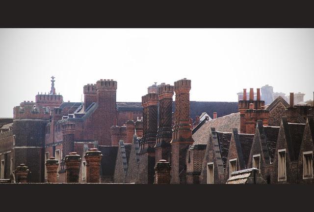 Hampton Court Palace - roofs