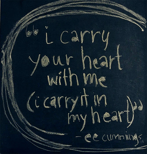 I Carry You In My Heart Artwork