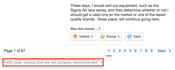 If you're a local business, be sure to keep copies of your Yelp reviews.