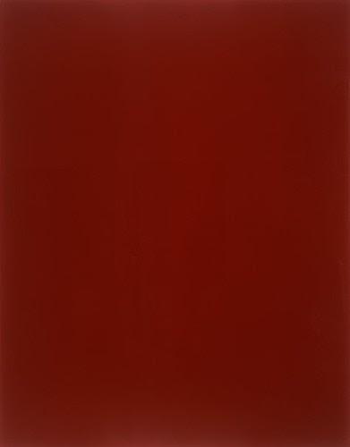 Blood Red Mirror by Gerhard Richter