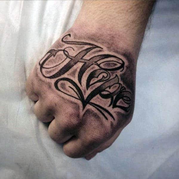 40 Hope Tattoos For Men Four Letter Word Design Ideas