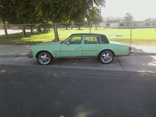 Sell used MINT GREEN 77 CADILLAC SEVILLE LOW ORIGINAL ...