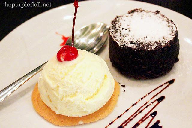 Lava Cake P190