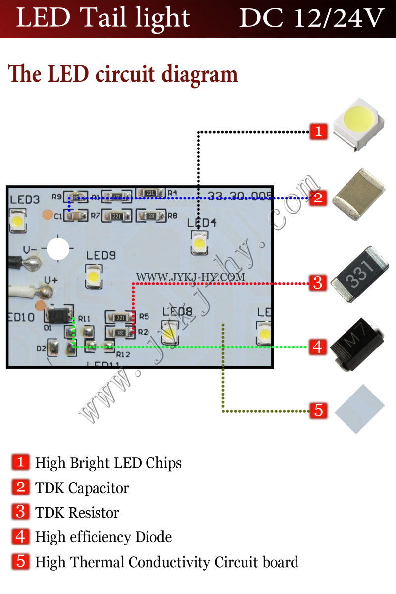 35 Inspirational Led Trailer Light Wiring Diagram