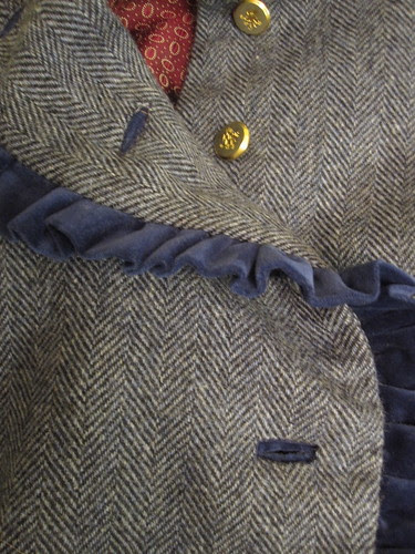 Finished Bound Buttonholes