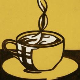 Roy Lichtenstein. Taza de café, 1961