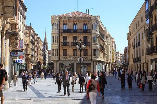 Resultado de imagen de calles Toro y Zamora salamanca