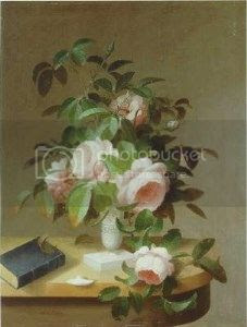 still life painted by Sarah Peale
