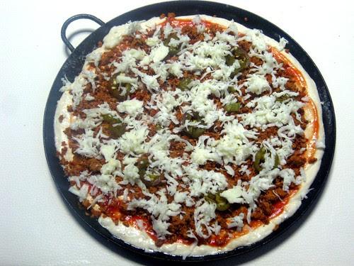 Mexican Pizza Prep 3