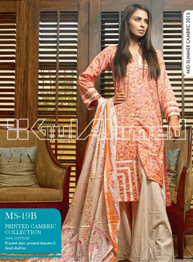 Mid-Summer-Cambric-Collection-2013-Gul-Ahmed-Printed-Embroidered-Fashionable-Dress-for-Girls-Women-9