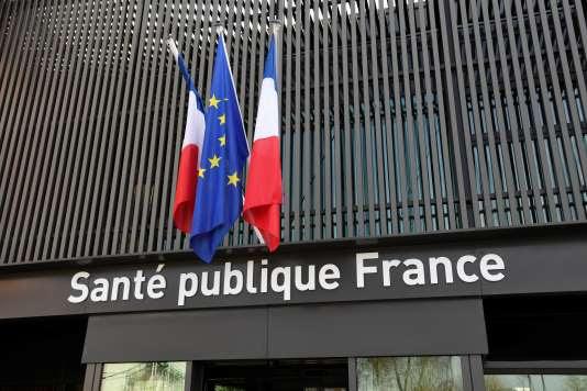 Le siège de l'agence nationale de santé publique, à Saint-Mandé (Val-de-Marne).