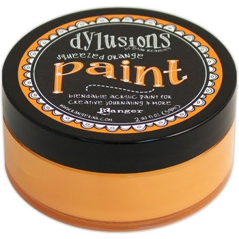 Ranger Dylusions Paint SQUEEZED ORANGE DYP46035